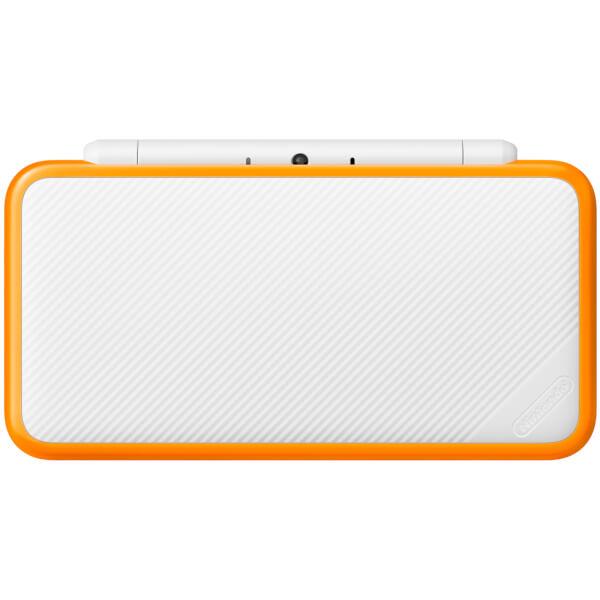 New Nintendo 2DS XL White and Orange  Nintendo Official