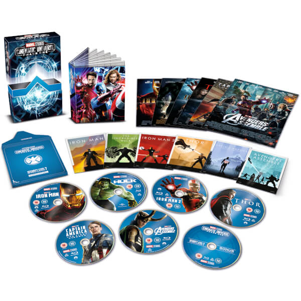 Marvel Studios Collector's Edition Box Set - Phase 1