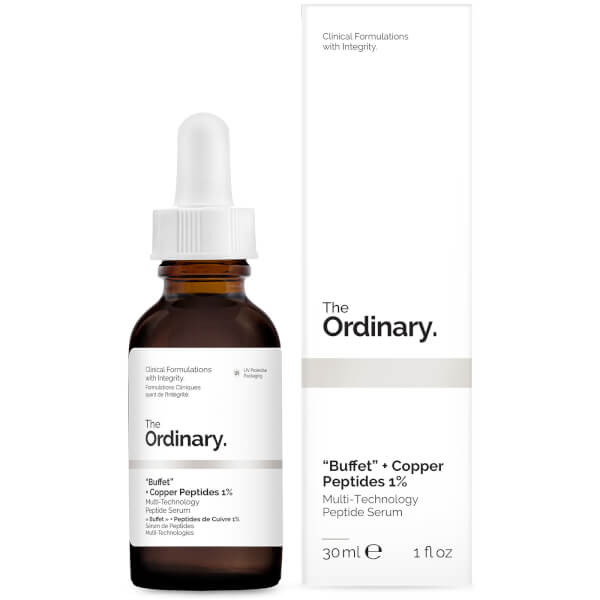 The Ordinary BUFFET + COPPER PEPTIDES 1% 藍銅抗皺修復精華
