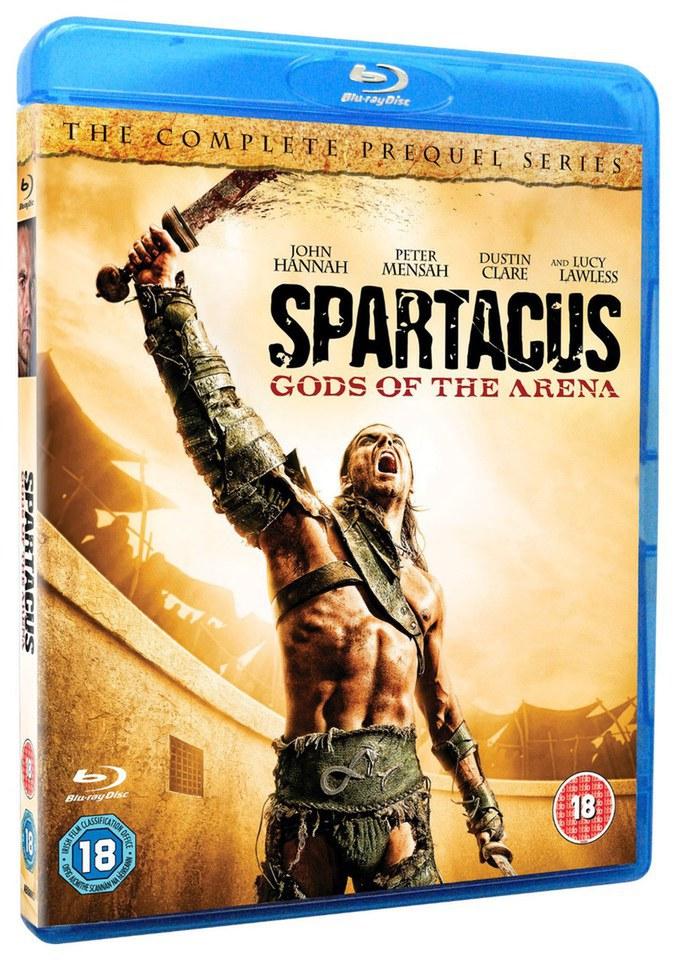 Spartacus – Gods Of The Arena Blu-ray | Zavvi - 676 x 960 jpeg 189kB