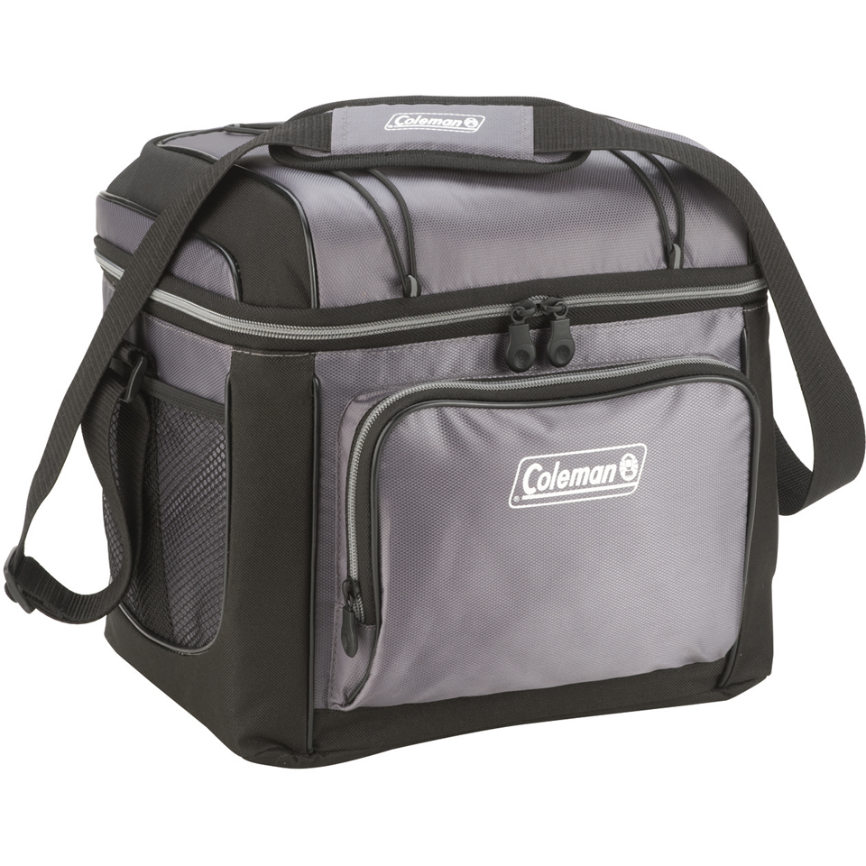 Coleman 24 Can Soft Cooler Bag with Hard Liner  IWOOT