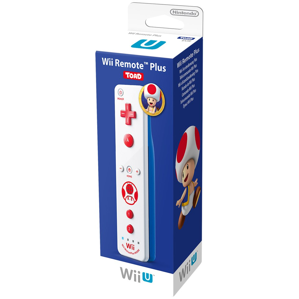 Wii Remote Plus Toad Nintendo UK Store