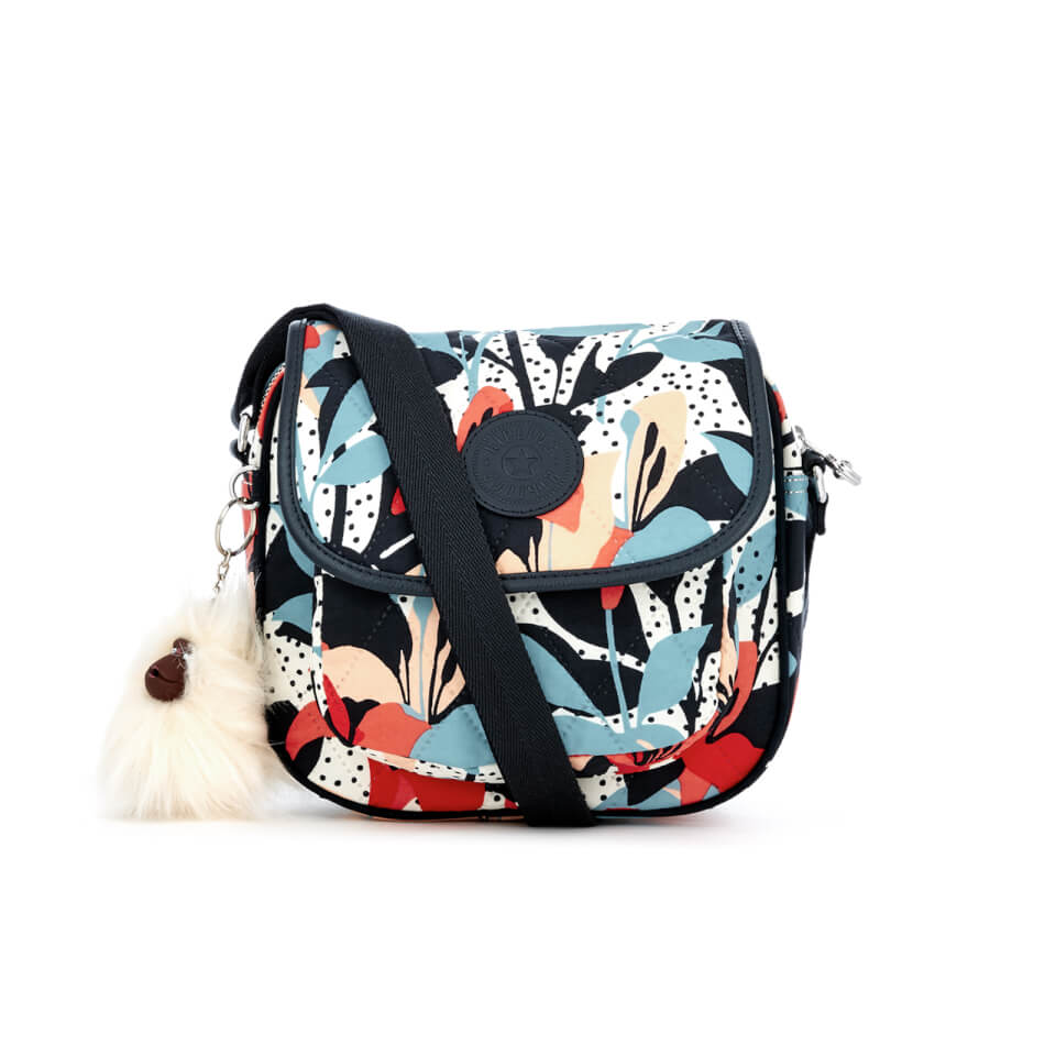 Kipling Womens Nuria Shoulder Bag Pastel Lily