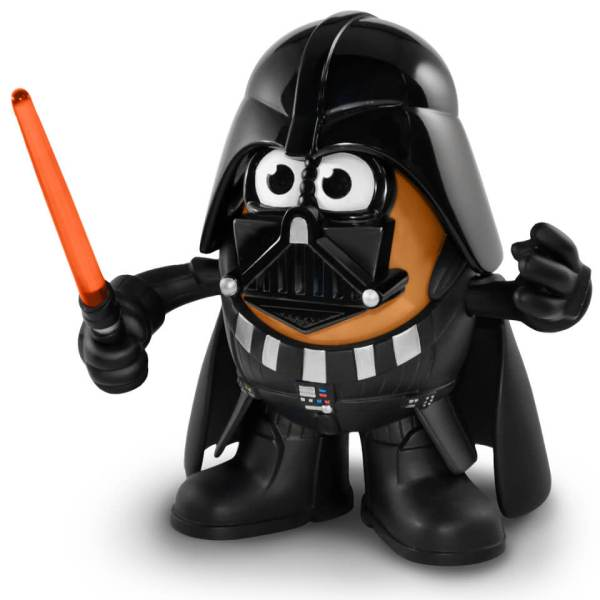 Star Wars - Darth Vader . Potato Head Poptater