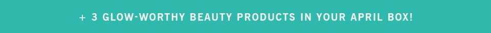 GLOSSYBOX APRIL 2018 SPOILERS