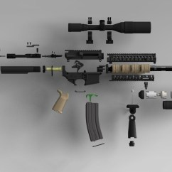 Ruger Ar 15 Exploded Diagram Turtle Shell Anatomy Colt M4 Two Ineedmorespace Co Wiring Ak 47 Parts List View