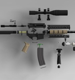 part diagram ar 15 [ 1676 x 1084 Pixel ]