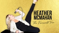 Official Heather McMahan - The Farewell Tour presale password