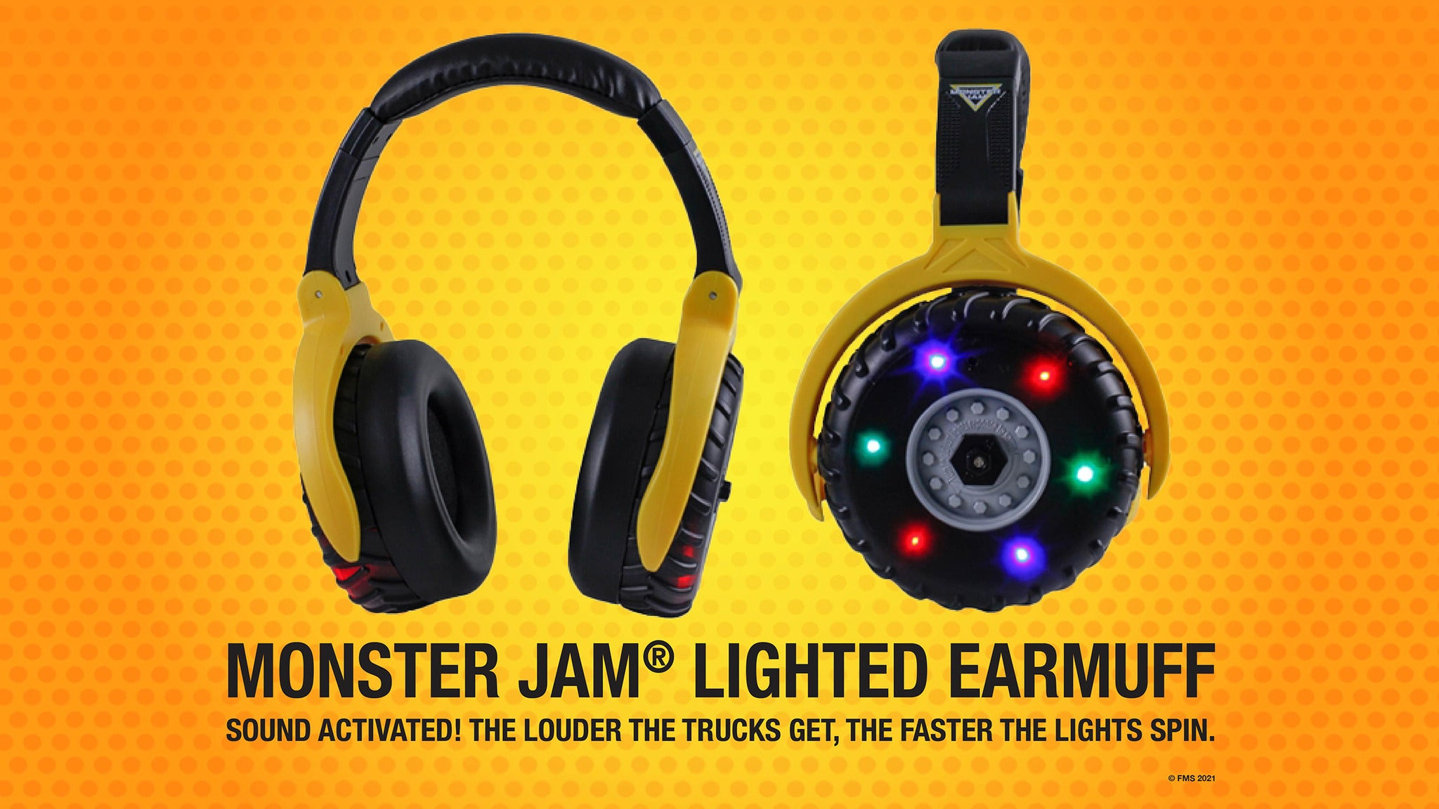 Monster Jam - Sound Activated Lighted Ear Muffs presale password for early tickets in Washington
