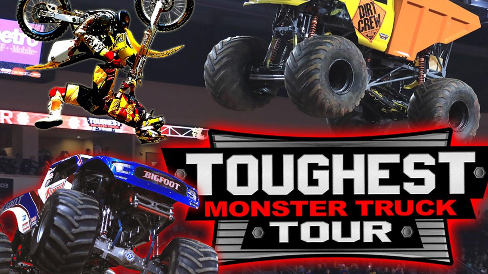 Toughest Monster Truck Tour presale password for show tickets in Tulsa, OK (BOK Center)