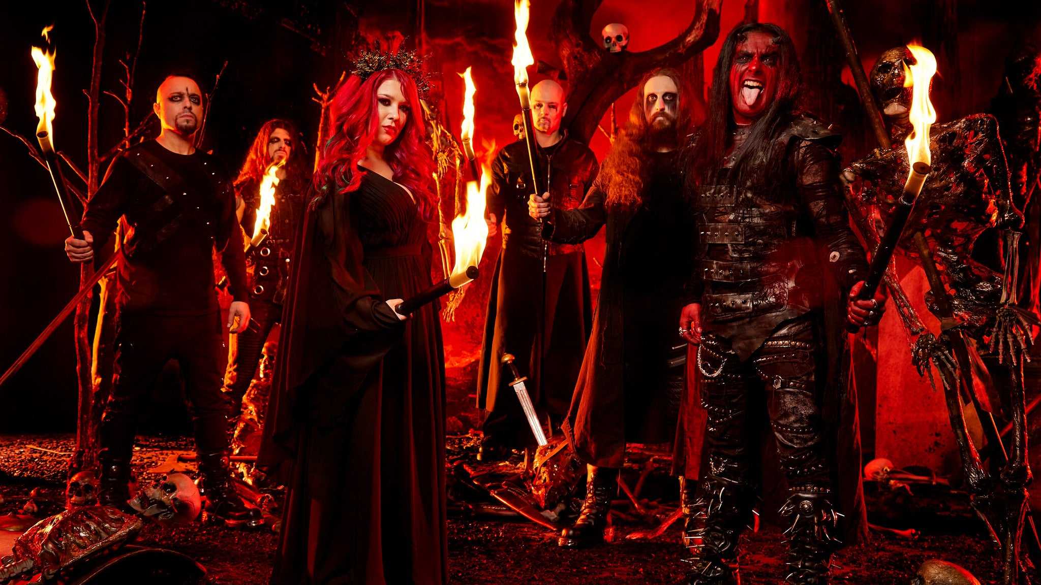 Cradle of Filth: Lustmord and Tourgasm pre-sale password