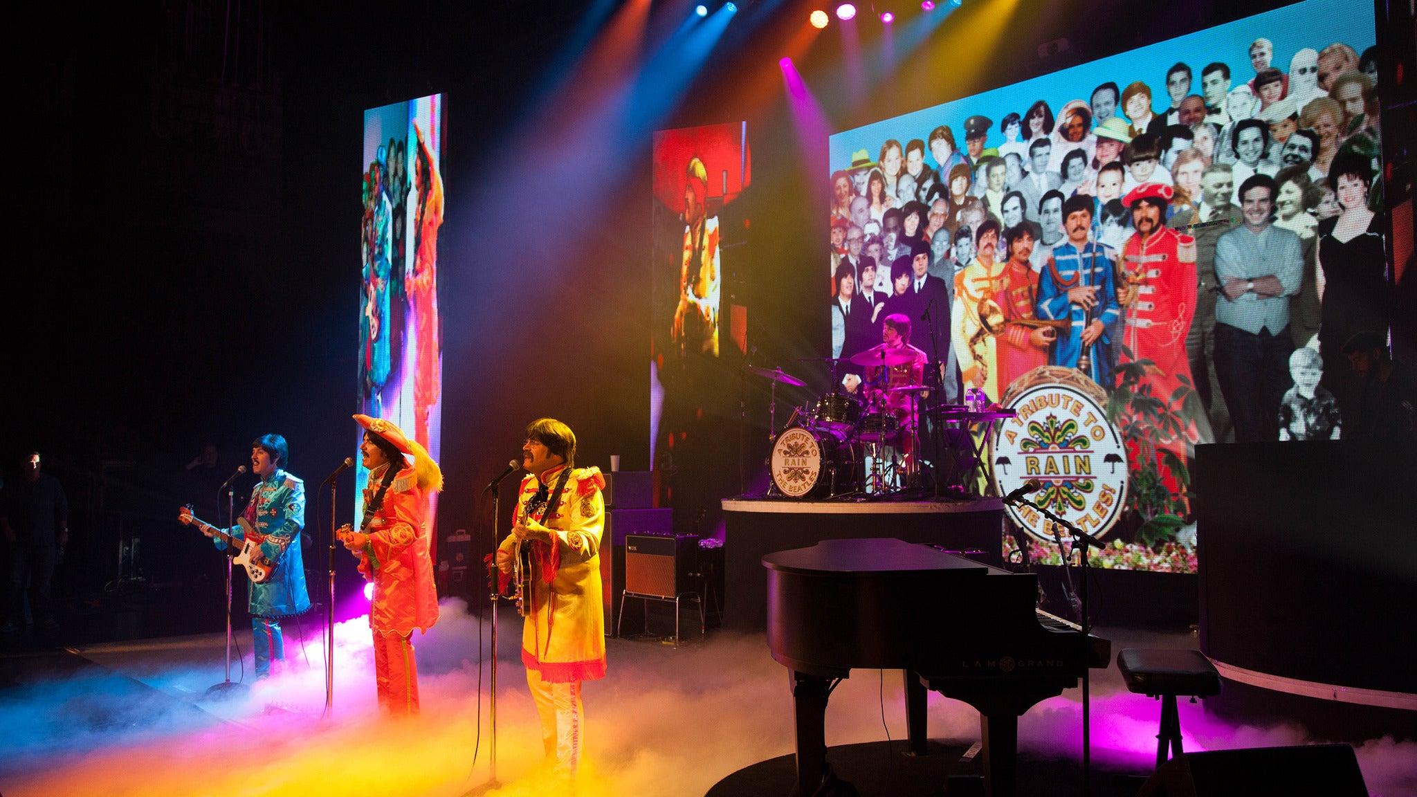 Rain: A Tribute To The Beatles presale password for show tickets in Scranton, PA (Scranton Cultural Center)