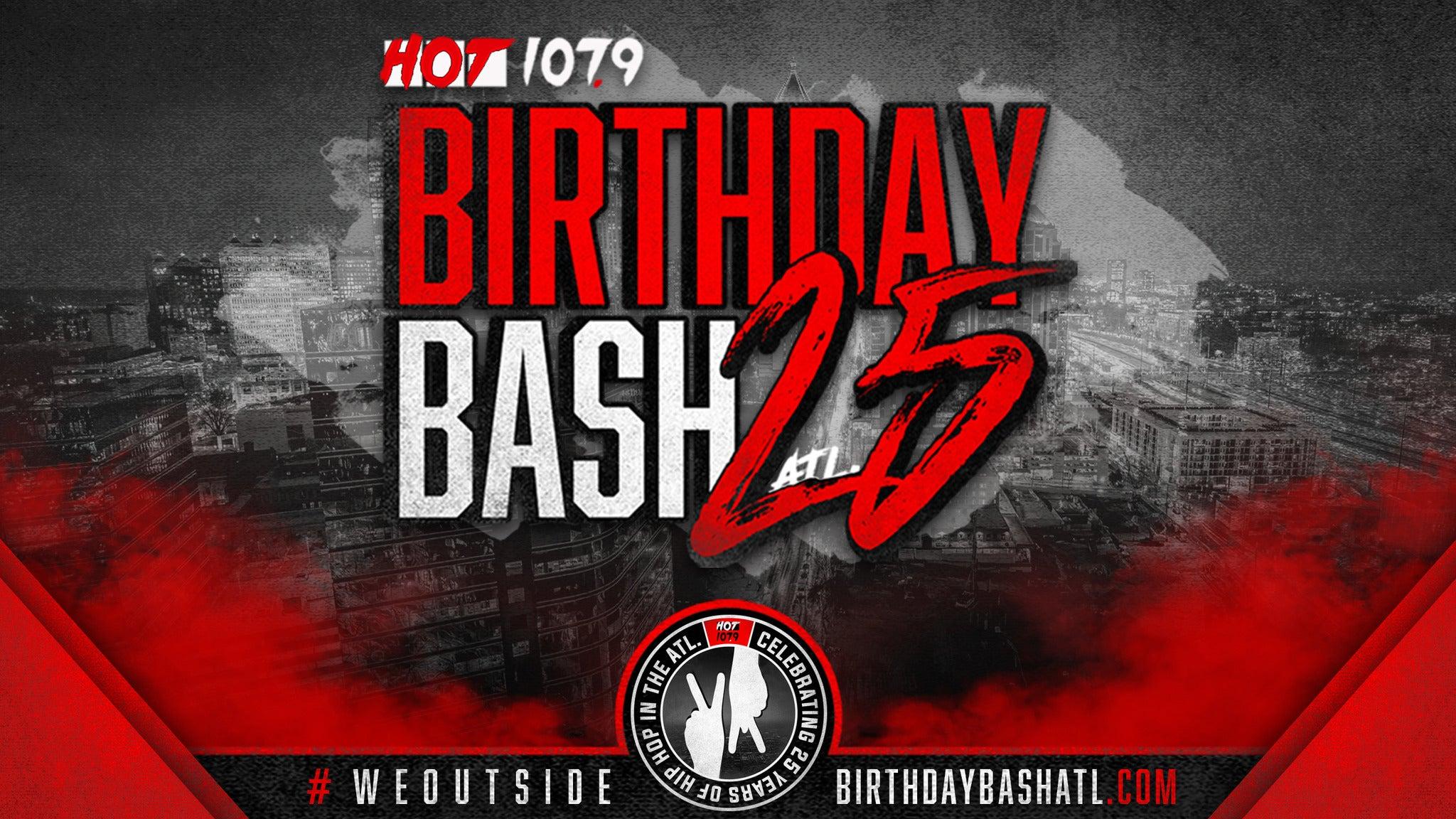 Hot 107.9 Birthday Bash presale password