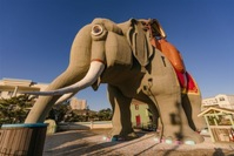 В США гостей приглашают переночевать в гигантском слоне
