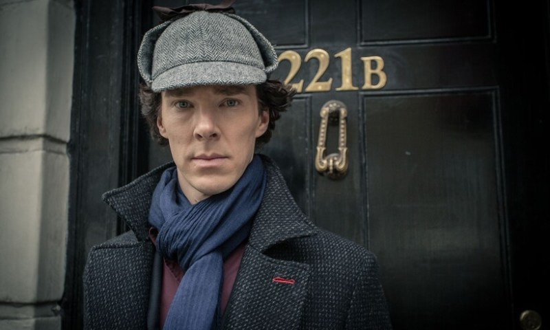 Рассказы о Шерлоке Холмсе считались бульварными. Кадр из сериала «Шерлок» 2010-2017 годов