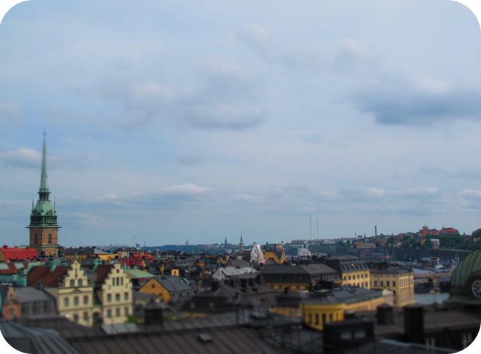 Vistas desde los tejados (C) Annika y Mini
