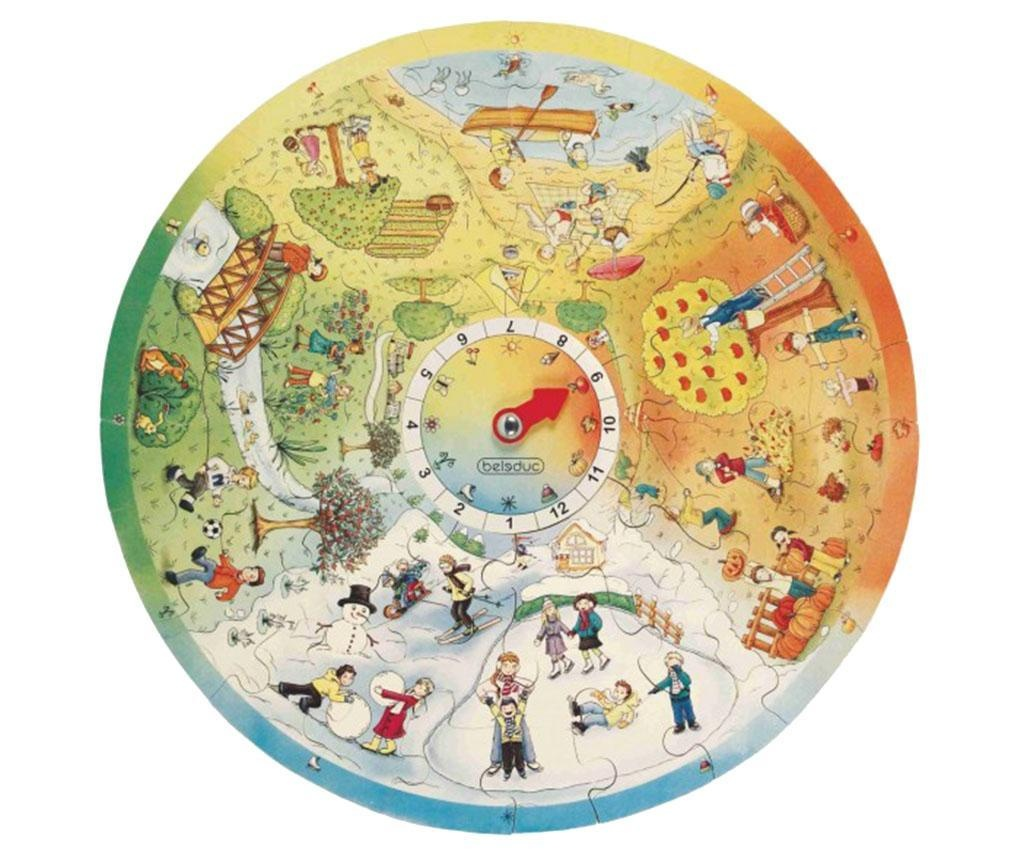 Puzzle Circular Four Seasons