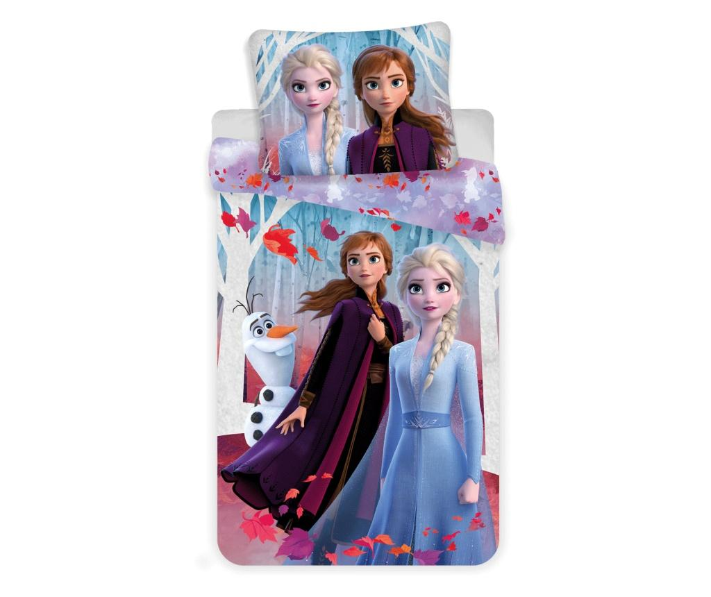 Set de pat Single Ranforce Disney Princess Frozen