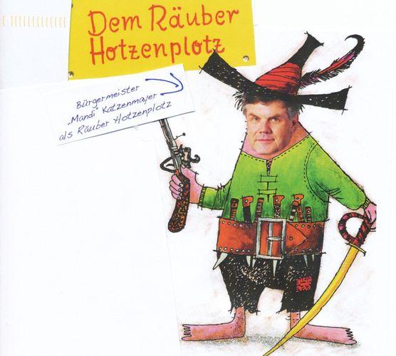 Otfried Preußler-Tag mit dem RÄUBER Hotzenplotz - Bludenz