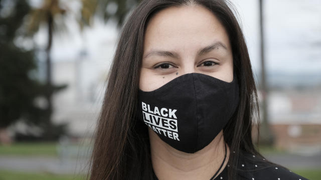 Kimi Stout opens up after Girl in The Pig restaurant owner defends BLM mask policy 212/21