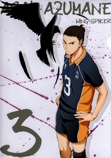 Azumane Asahi  Haikyuu  Zerochan Anime Image Board