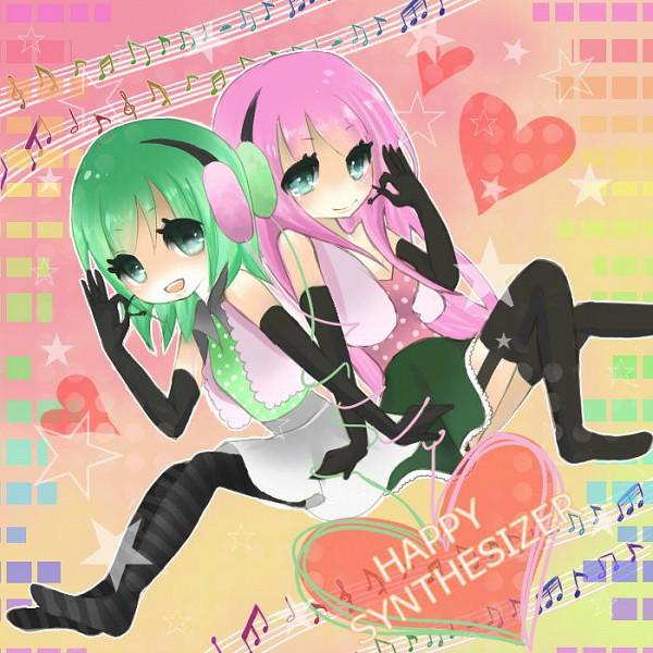 Happy Synthesizer Image #411380 - Zerochan Anime Image Board