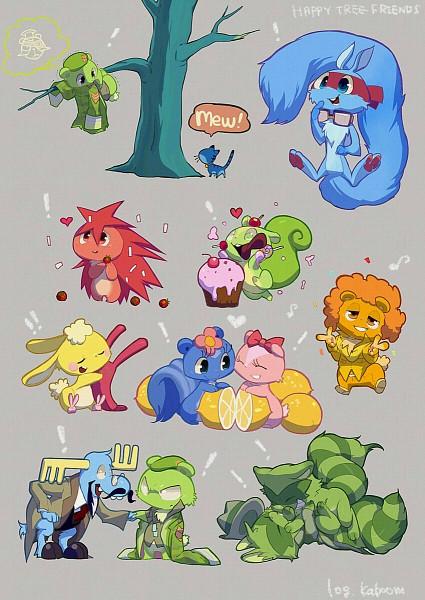Cute Anime Food Wallpaper Creepypasta Happy Tree Friends Mobile Wallpaper 793852 Zerochan
