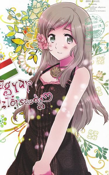Only Beautiful Girl Wallpaper Hungary Axis Powers Hetalia Zerochan Anime Image Board