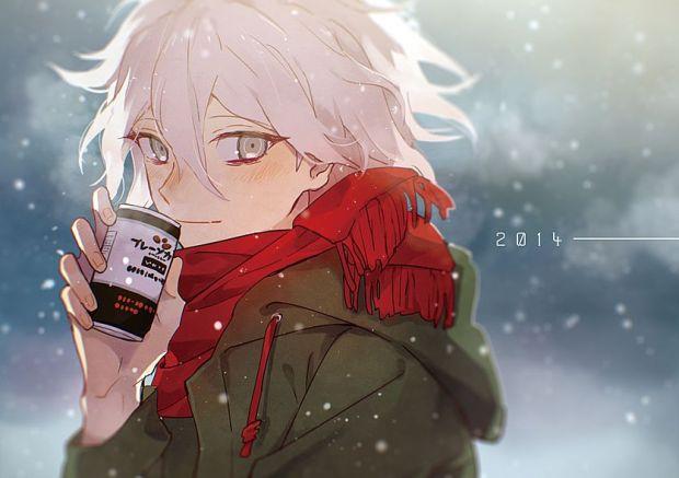 Tags: Anime, You (Roka), Super Danganronpa 2, Komaeda Nagito, Fanart From Pixiv, Pixiv, Fanart