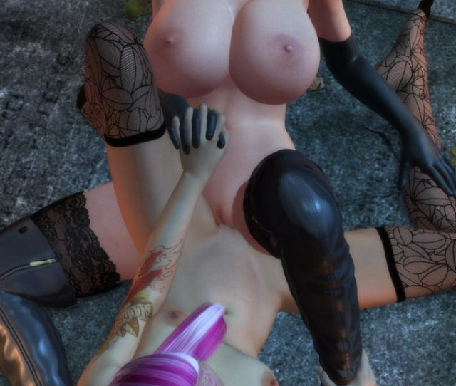 Lesbian Female Friendly Sex Between Busty Babes Who Love Scisorring Pose In Dr Robo Halloween Havoc Black Magic Woman