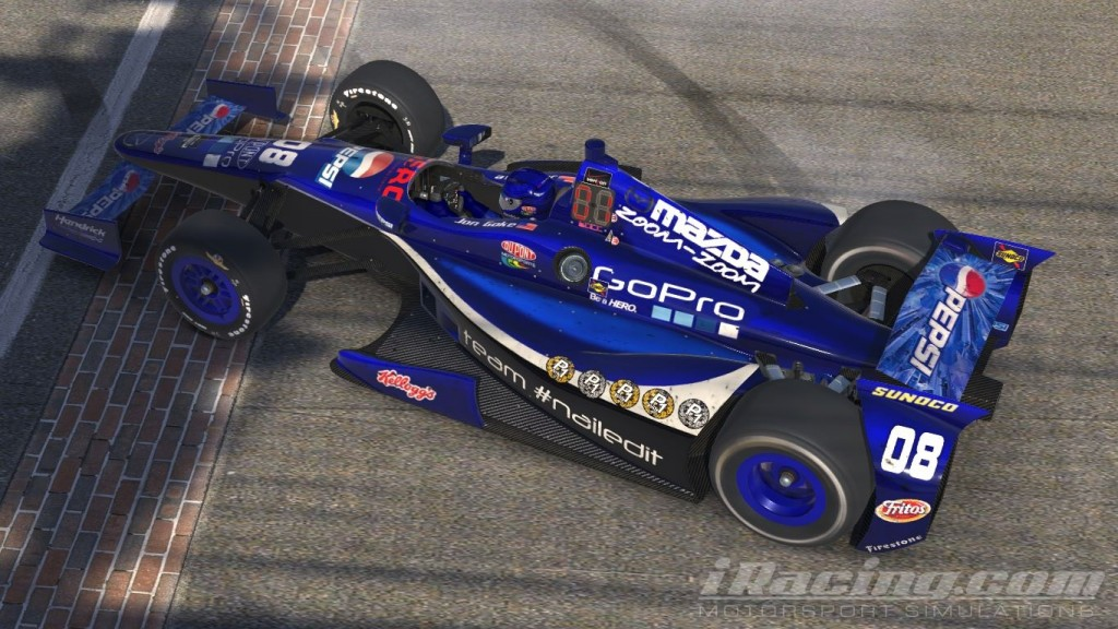 How Many Laps In Indy 500 >> Jon Goke Drinks Milk At Indy – iRacer.ca