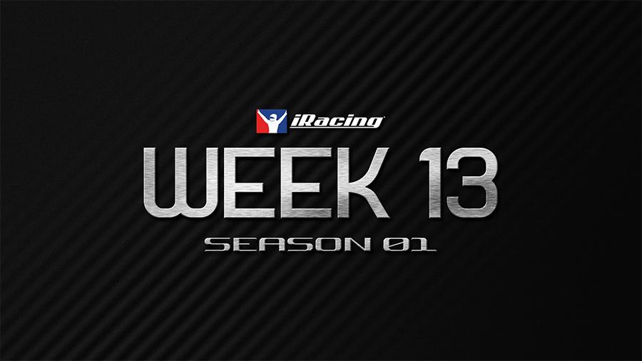 iRacing: 2021 Season 1 Week 13 Series details