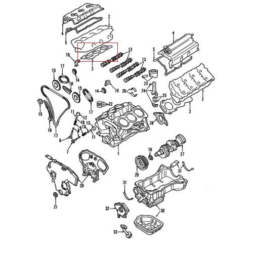 Wholesale OEM Nissan 11044-8J102 Head Gasket Supplier Abraa