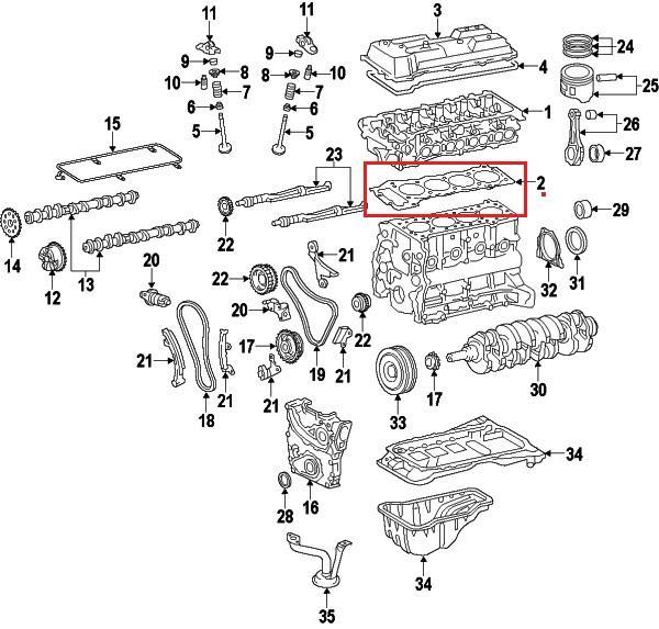 Wholesale Toyota 11115-75051 Cylinder Head Gasket Supplier