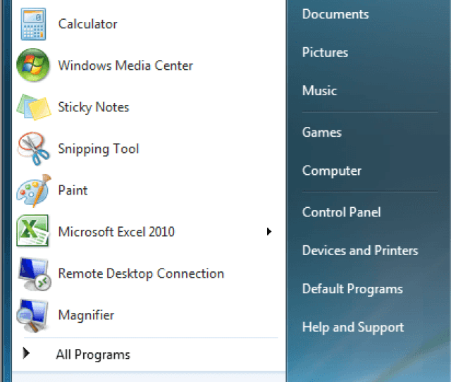 However If You Really Like The Windows Xp Start Menu There Are Ways To Make The Windows 7 Start Menu Behave Like Xp