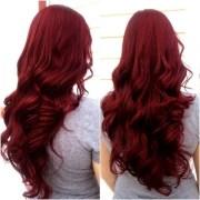beautiful bright hair colored