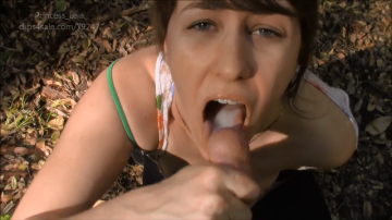 Princess Leia - Deep Forest Blowjob With Daddy