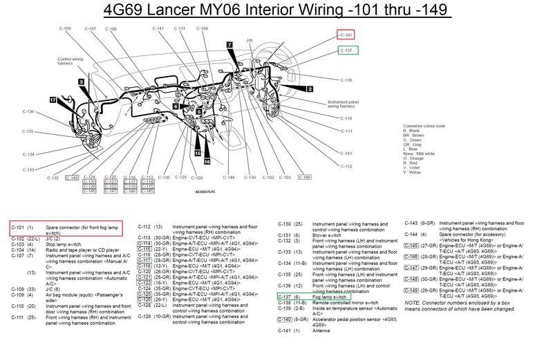 4g69_fog?resize\\\\\\\=665%2C415 amusing mitsubishi outlander tow bar wiring diagram ideas best