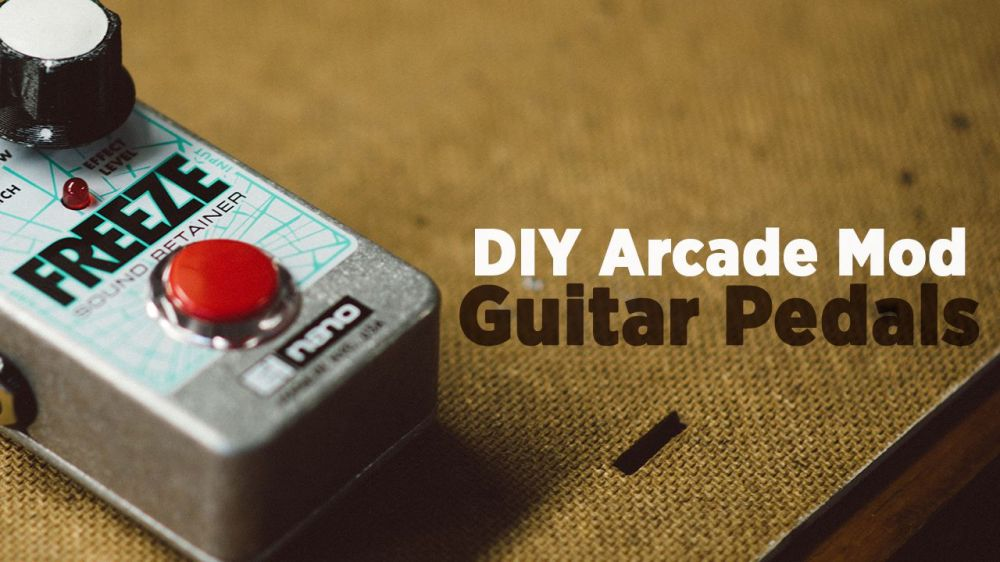 medium resolution of diy how to mod fx pedals with arcade buttons
