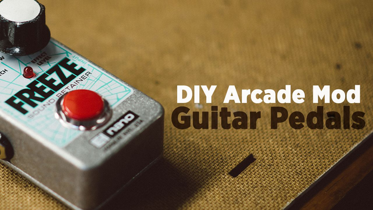 hight resolution of diy how to mod fx pedals with arcade buttons