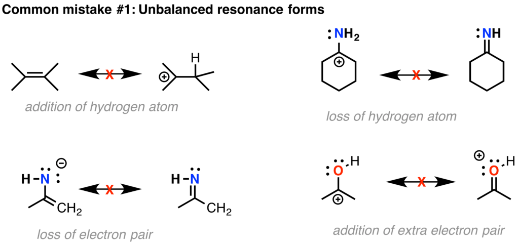 Drawing Resonance Structures: 3 Common Mistakes To Avoid