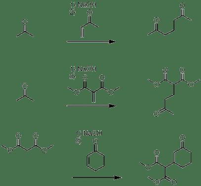 1,4-addition of enolates to enones (