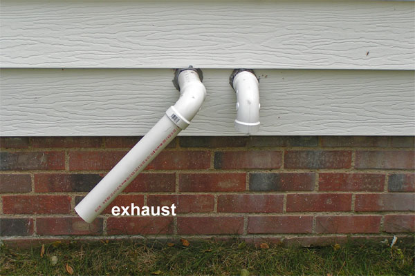 High Efficiency Furnace Exhaust Pipe