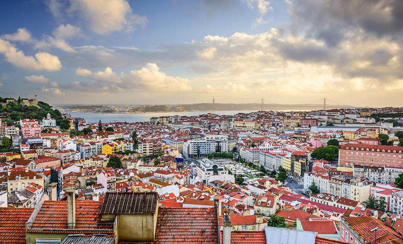 A mini map guide to Lisbon Portugal