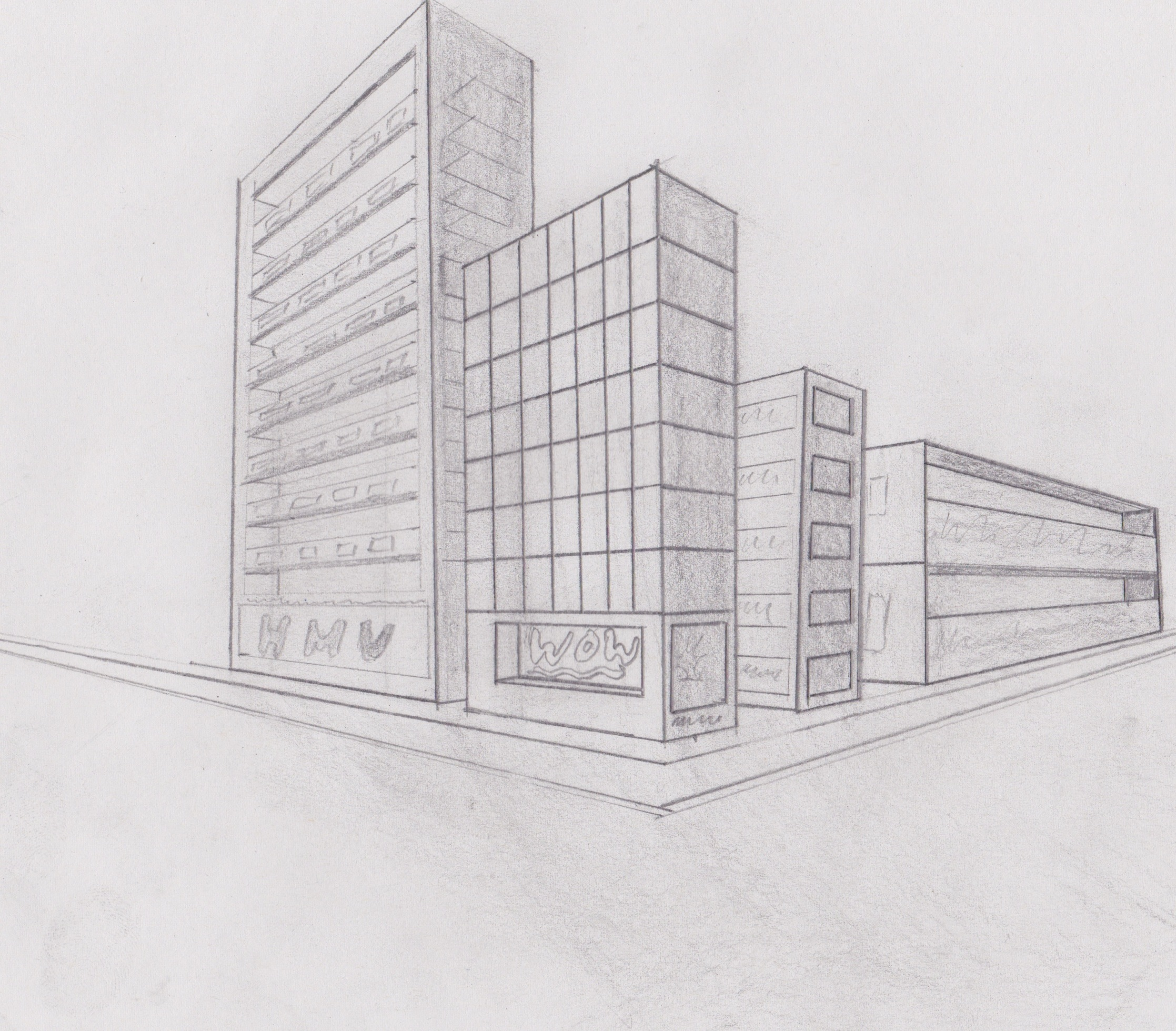 Creative Media Perspective Drawing S