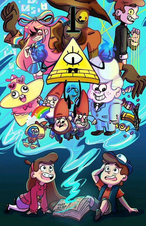 Gravity Falls Mabel And Gideon