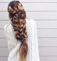 braids, hair, hairstyles, tumblr