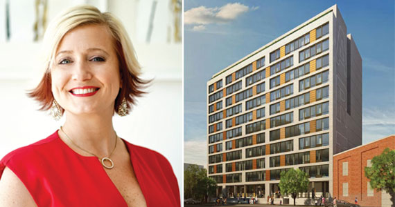 Natalie Miniard of JCity Realty worked with Art House, a 119-unit rental that was fully leased in six months.