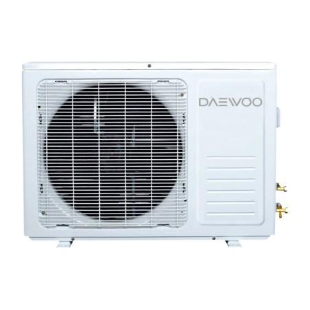 Aparat de aer conditionat Daewoo 12000 BTU Wi-Fi, Clasa A++, Kit instalare inclus 3m, Control prin internet, Filtru antibacterian, 4 directii de ventilare, I Feel, display ascuns, DSB-F1202ELH-VKW, Alb