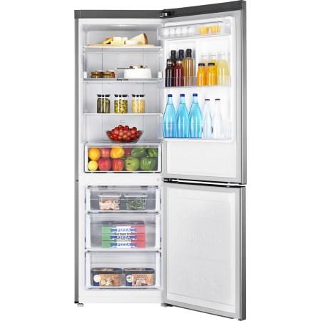 Combina frigorifica Samsung RB33N340NSA/EF, 315 l, Clasa A+++, Full No Frost, Power Freeze, Compresor Digital Invertor, Display, H 185 cm, Metal Graphite